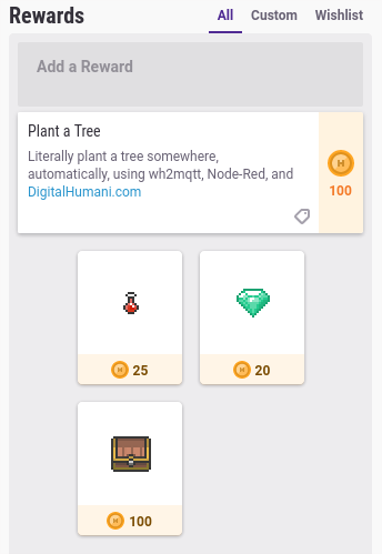 habitica-screenshot-rewardscolumn